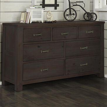 Richlands Furniture Highlands 7 Drawer Dresser in Espresso, , large