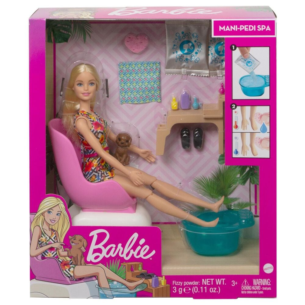 Barbie Mani-Pedi Spa Playset, , large