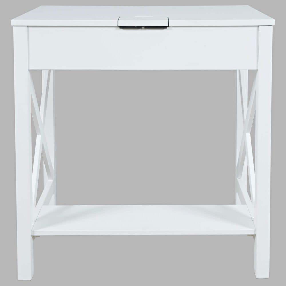 Waltham Hobson Writing Desk in White, , large