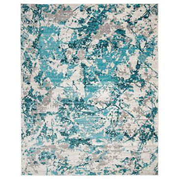 Safavieh Skyler SKY186M 10' x 14' Blue and Ivory Area Rug, , large