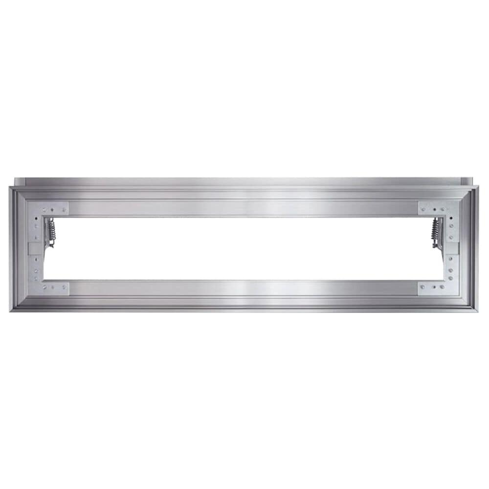 """Roth Distributing 88"""" Inset Grille Frame in Stainless Steel, , large"""