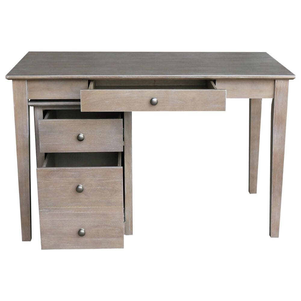 International Concepts 3-Piece Office Set in Washed Gray Taupe, , large