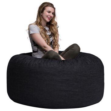 Jaxx Sacks 4' Bean Bag Chair in Black, , large