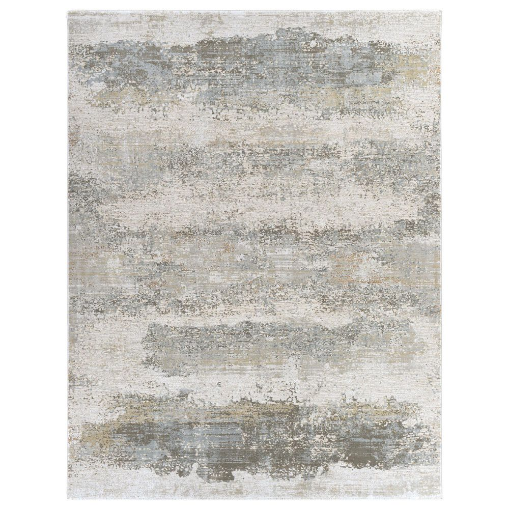 Surya Brunswick 12' x 15' Sage, Gray, White, Blue and Brown Area Rug, , large