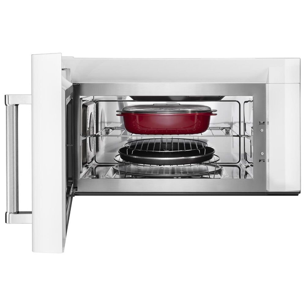 KitchenAid 1.9 Cu. Ft. Over-the-Range Microwave in White, White, large