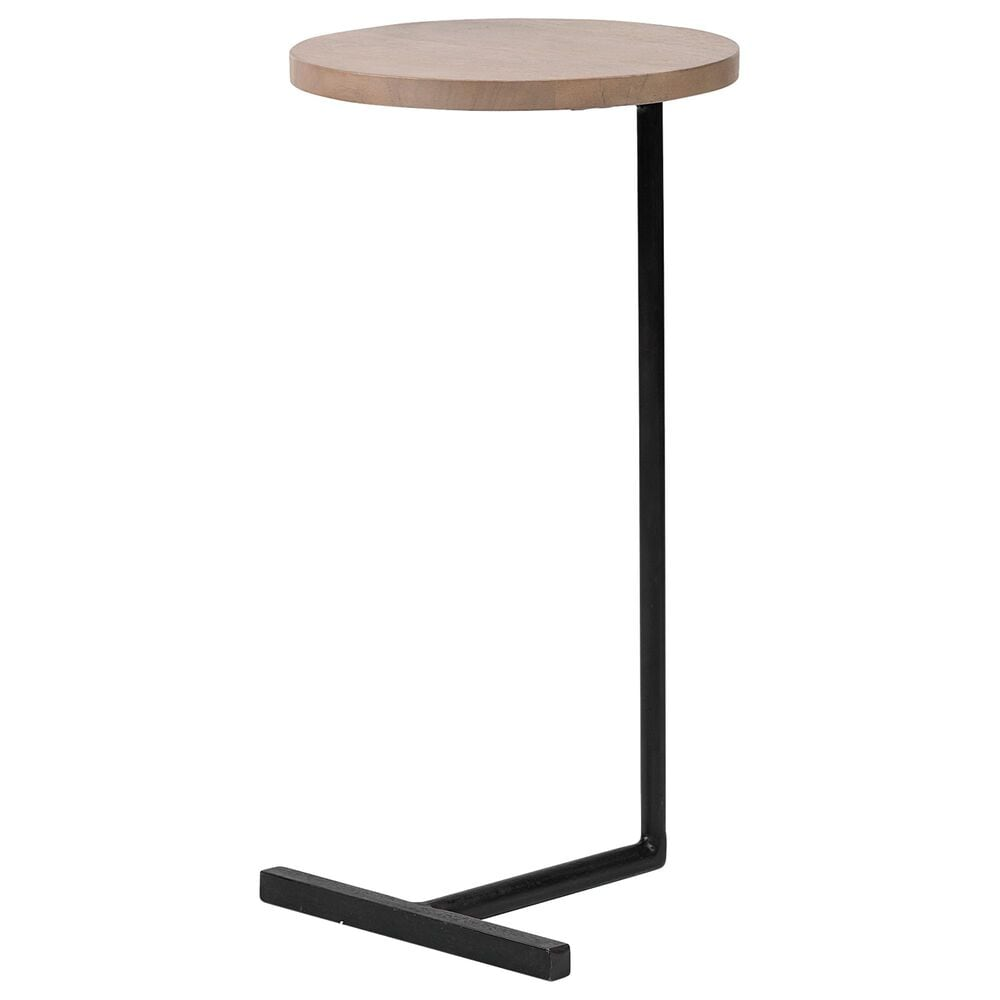 Mercana Ballantine Side Table in Brown and Black, , large