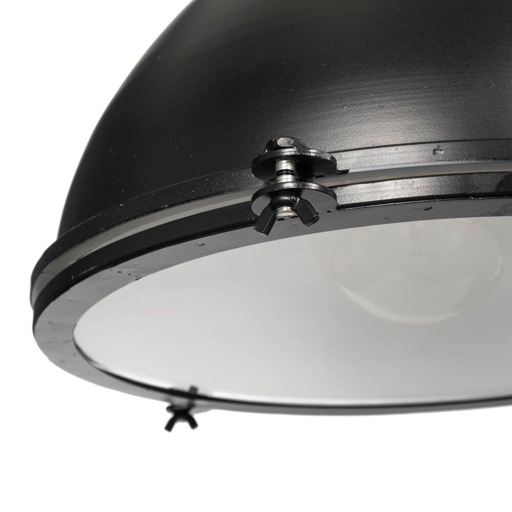 Mercana Bashaw III 1-Light Pendant in Metallic Black, , large