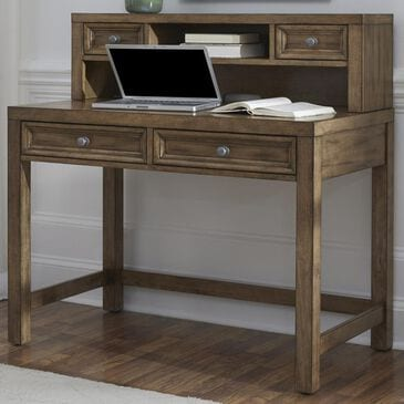Home Styles Sedona Student Desk & Hutch in Rustic Toffee, , large
