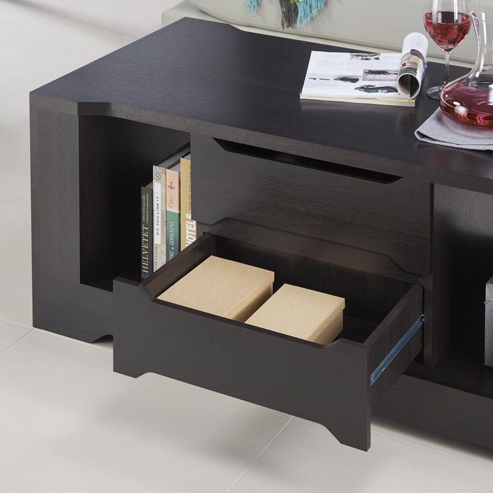 Furniture of America Itzel Storage Coffee Table in Espresso, , large