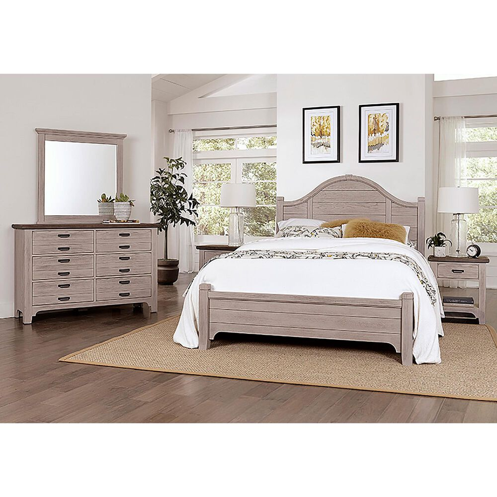 Viceray Collections Bungalow 6 Drawer Dresser in Dover Grey and Folkstone, , large