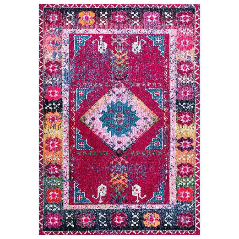 nuLOOM Bella KSBL06A 8' x 10' Purple Area Rug, , large