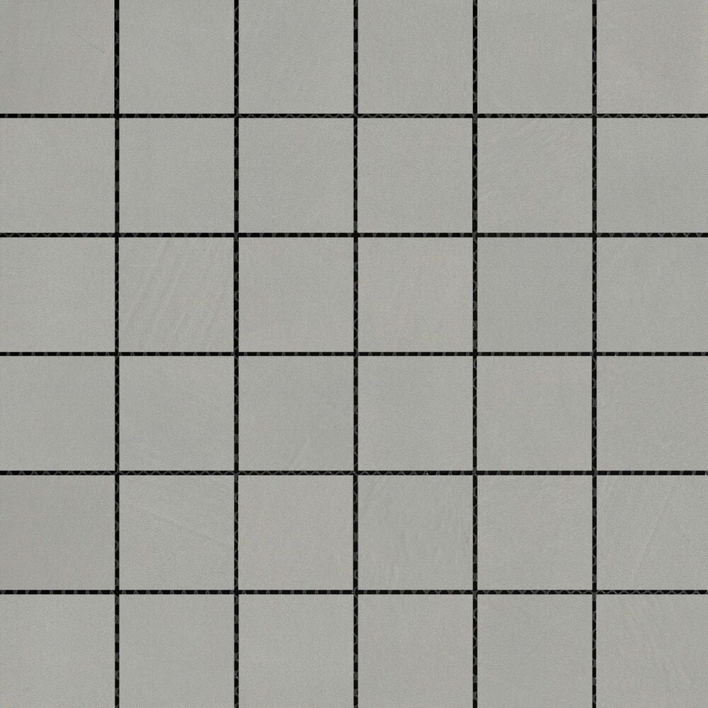 "Emser Council Gray 2"" x 2"" Square on 12"" x 12"" Porcelain Mosaic Sheet, , large"