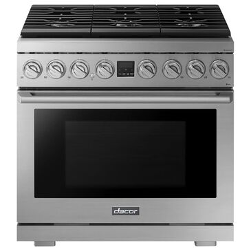 """Dacor 36"""" Gas Fuel Range in Stainless Steel, , large"""
