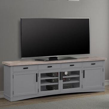 """Simeon Collection Americana Modern 92"""" TV Console in Dove, , large"""