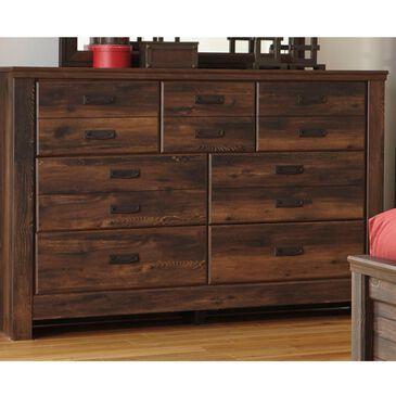 Signature Design by Ashley Quinden 7 Drawer Dresser in Dark Brown, , large