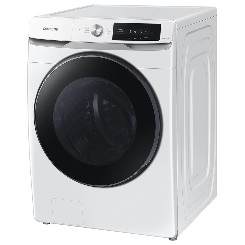 Samsung 4.5 Cu. Ft. Smart Dial Front Load Washer and 7.5 Cu. Ft. Electric Dryer in White, , large