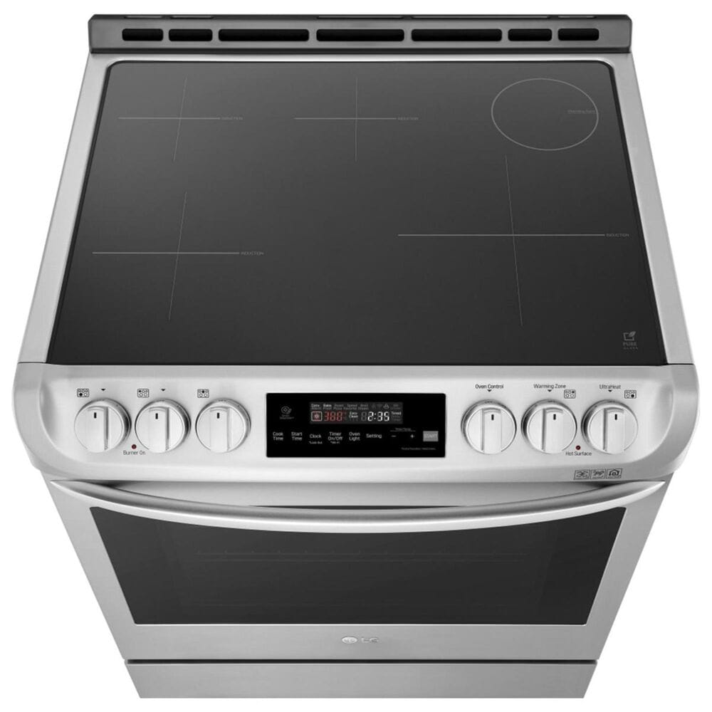LG Induction Freestanding Electric Range in Stainless Steel, , large