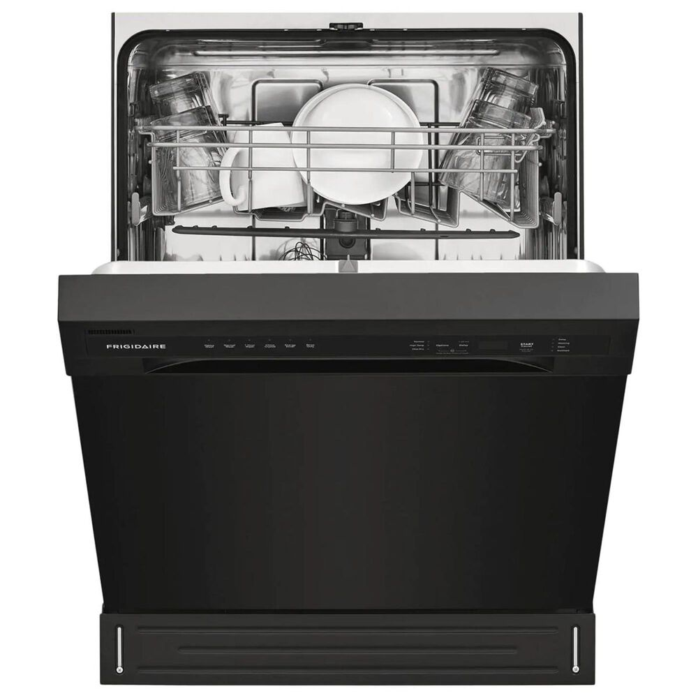 """Frigidaire 24"""" Built-In Dishwasher with Heated Drying System in Black , , large"""