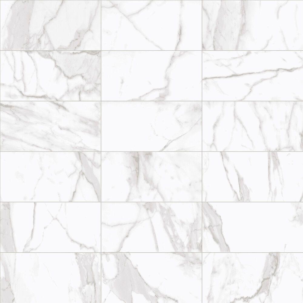 """Interceramic Cortina Juno White 12"""" x 24"""" Matte Porcelain Tile, , large"""