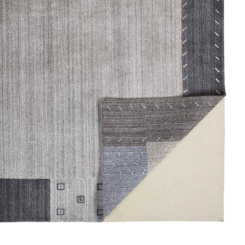 """Feizy Rugs Legacy 7'9"""" x 9'9"""" Gray and Blue Area Rug, , large"""