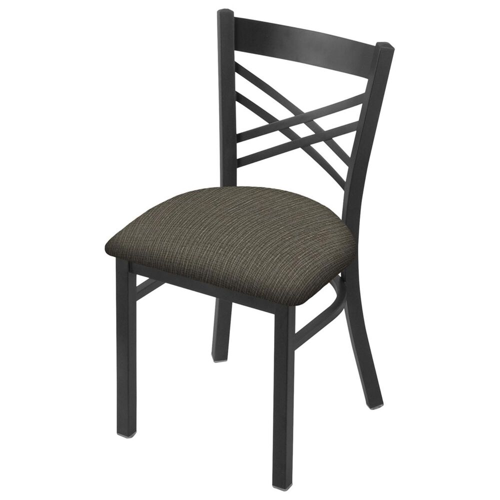"""Holland Bar Stool 620 Catalina 18"""" Chair with Pewter and Graph Chalice Seat, , large"""