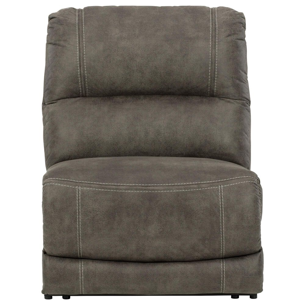 Signature Design by Ashley Cranedall 6-Piece Power Reclining Sectional in Quarry, , large