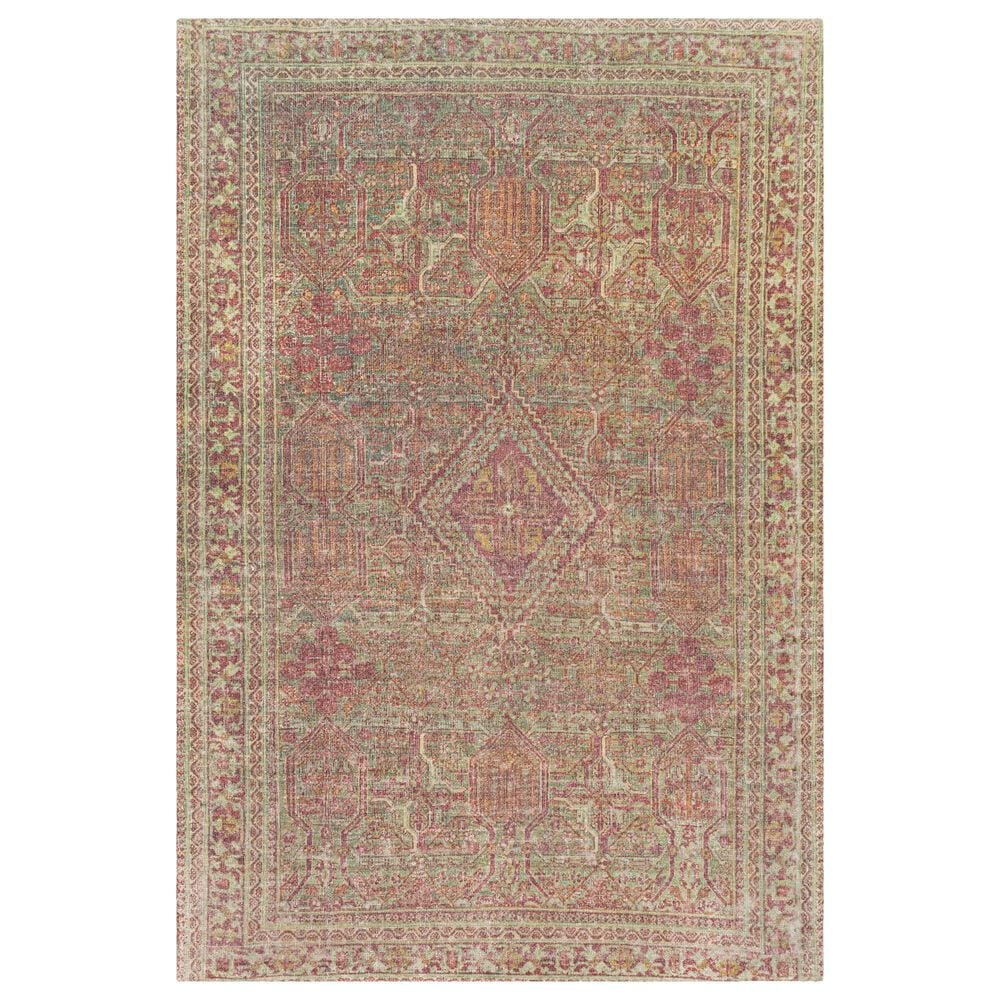 """Surya Unique UNQ-2306 7'6"""" x 9'6"""" Olive, Rust and Wheat Area Rug, , large"""