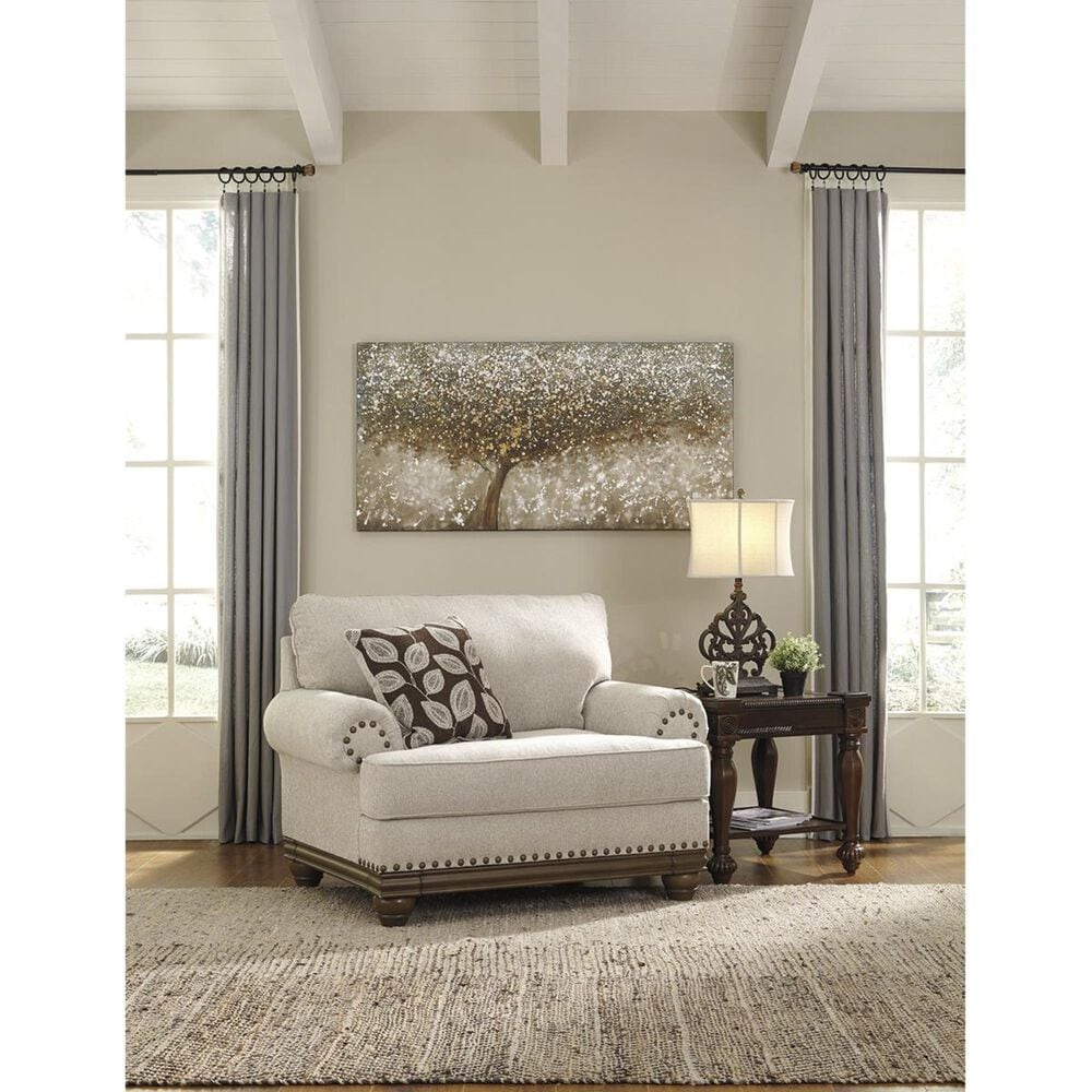 Signature Design by Ashley Harleson Chair and A Half in Wheat, , large