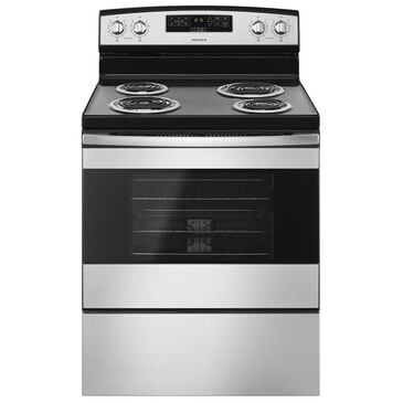 """Amana 30"""" Electric Range with Bake Assist Temps in Stainless Steel, , large"""