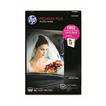 """HP Premium Plus Photo Paper - 100 sheets, 4 x 6"""", , large"""