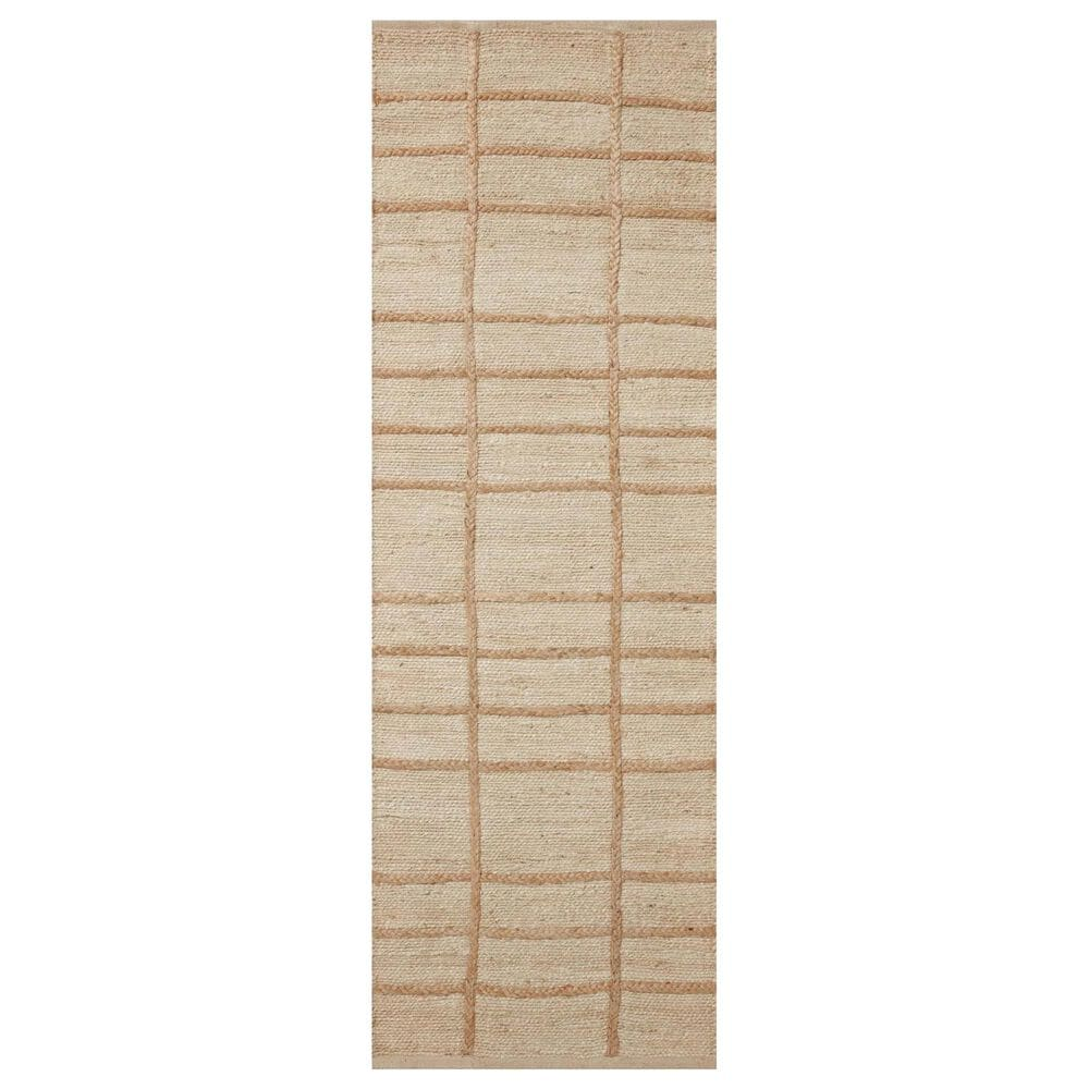 """Loloi II Bodhi BOD-04 2'6"""" x 7'6"""" Ivory and Natural Runner, , large"""
