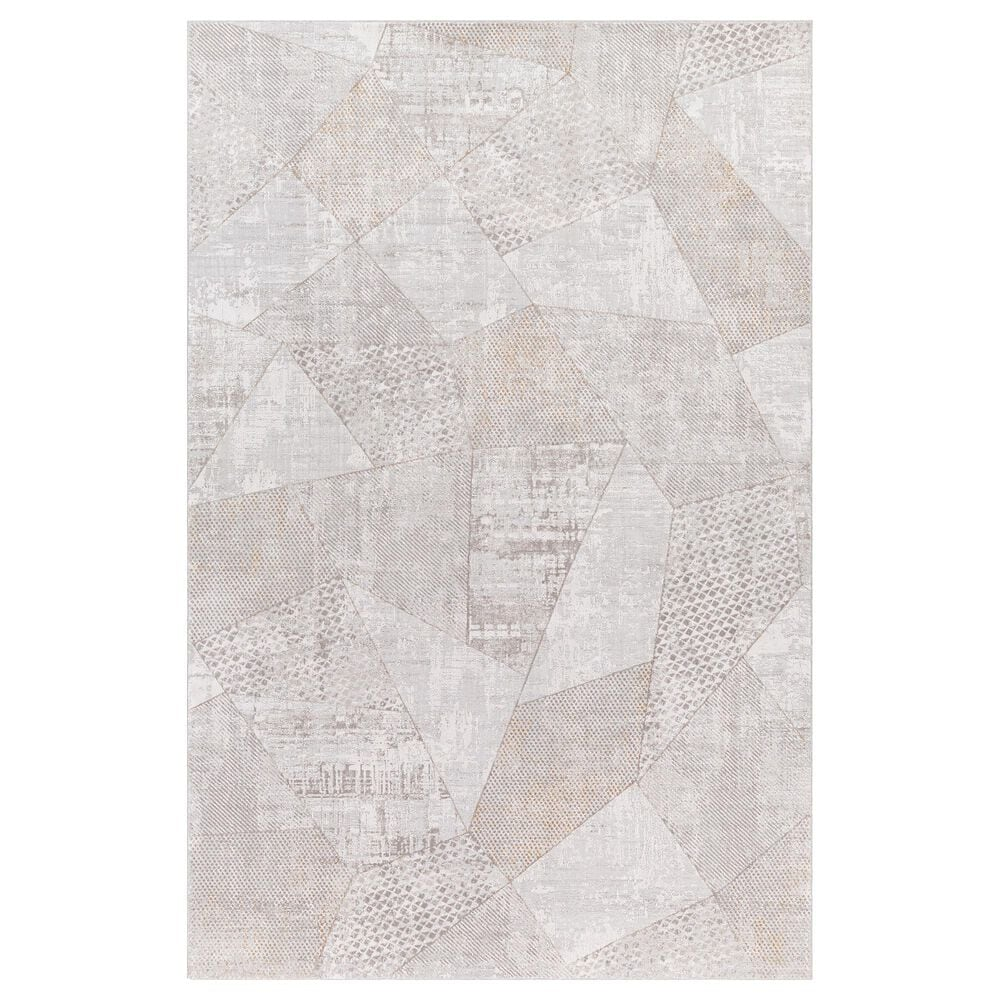 Surya Carmel 10' x 14' White, Ivory, Gray and Taupe Area Rug, , large