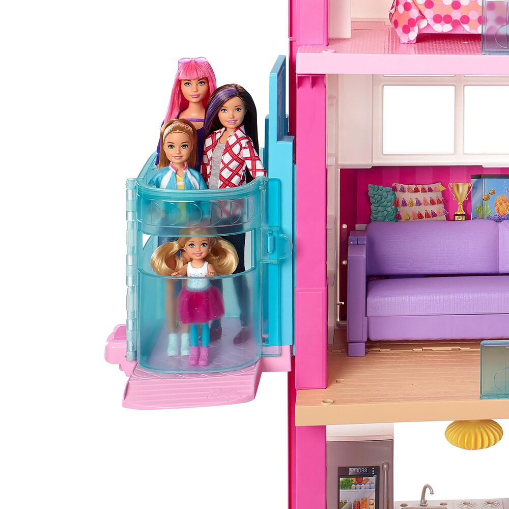 Barbie Dreamhouse with New Elevator, , large