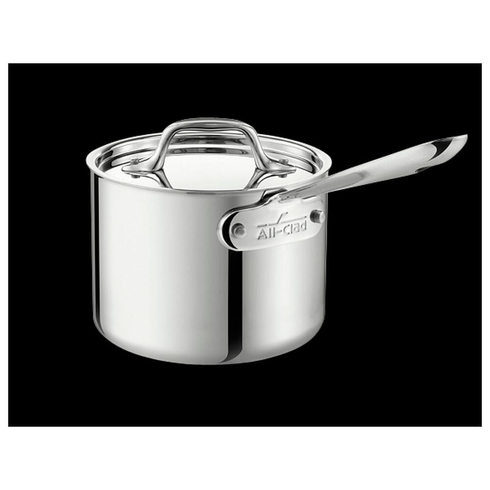 All-Clad 3 Qt. Sauce Pan with Lid, , large