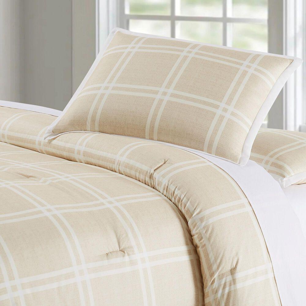 Pem America Truly Soft Leon 3-Piece King Comforter Set in Khaki, , large