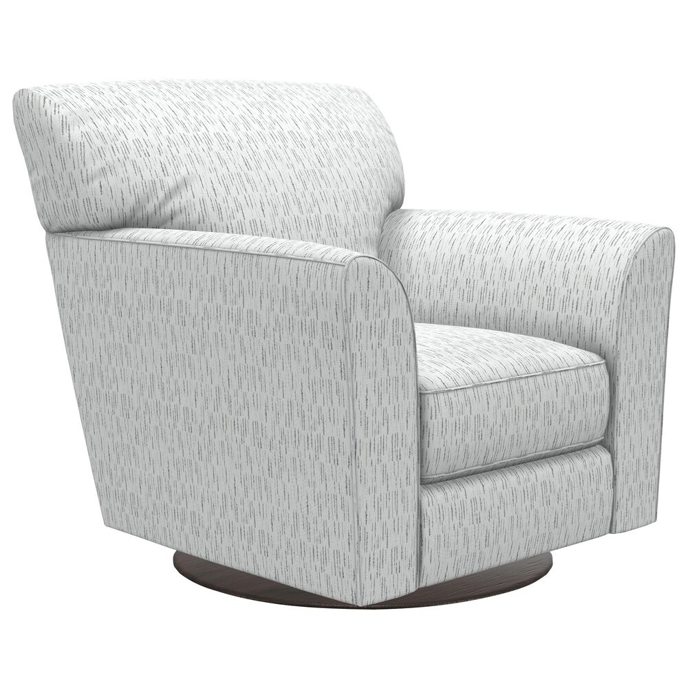 La-Z-Boy Allegra Swivel Glider Chair in Graphite, , large