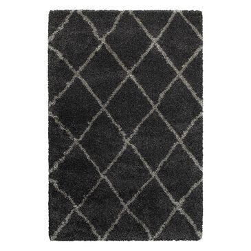 "at HOME Henderson 90K 7'10"" x 10'10"" Charcoal/Grey Area Rug, , large"