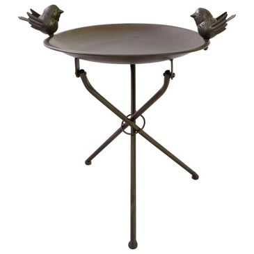 "The Gerson Company 20.5"" Tall Birdbath in Bronze, , large"