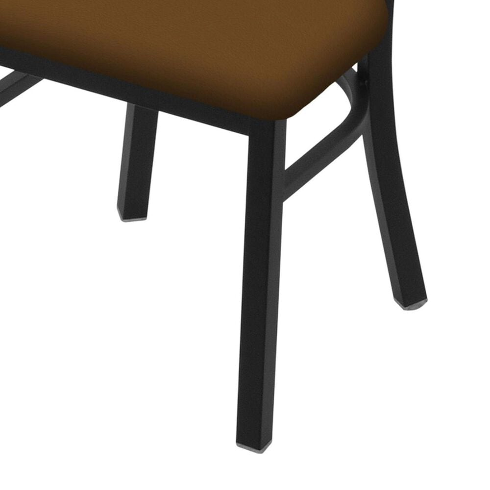 """Holland Bar Stool 620 Catalina 18"""" Chair with Black Wrinkle and Canter Thatch Seat, , large"""