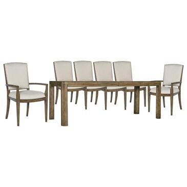 Hooker Furniture Sundance 7-Piece Dining Set in Dynamic Brown, , large