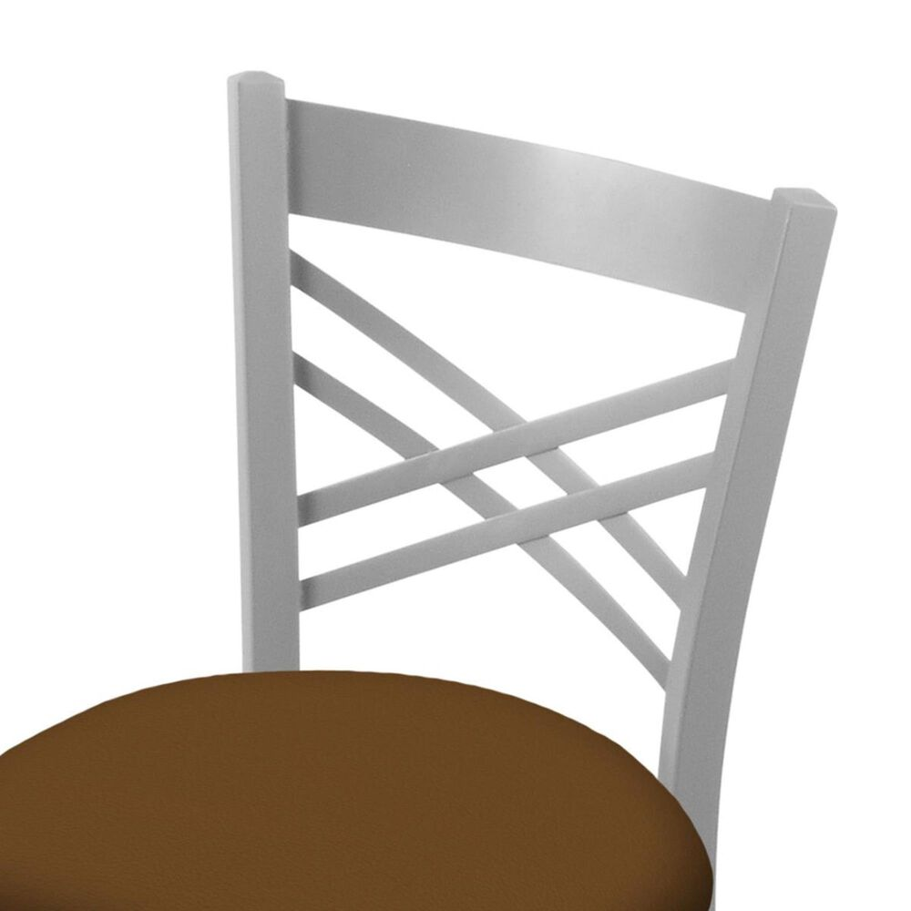 """Holland Bar Stool 620 Catalina 18"""" Chair with Anodized Nickel and Canter Thatch Seat, , large"""