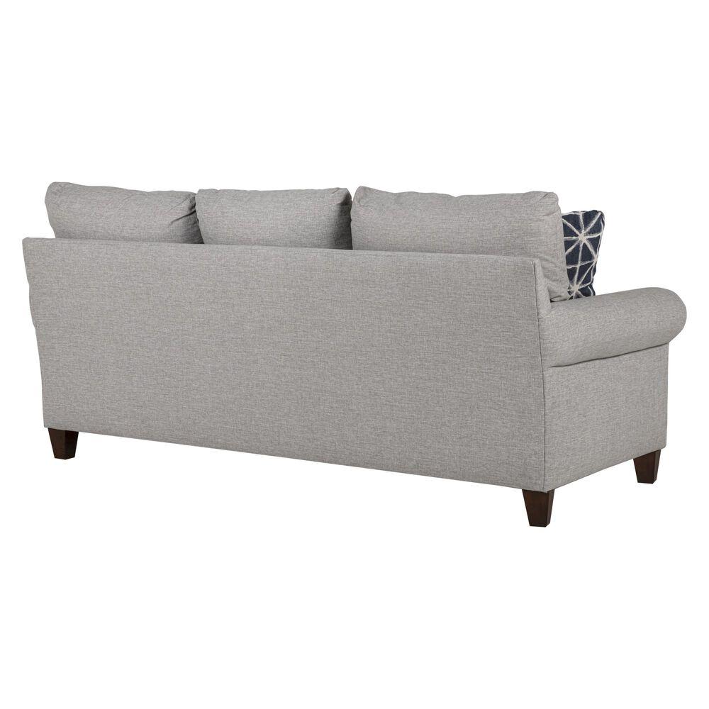 Bassett Dawson Blue Sofa in Fog, , large