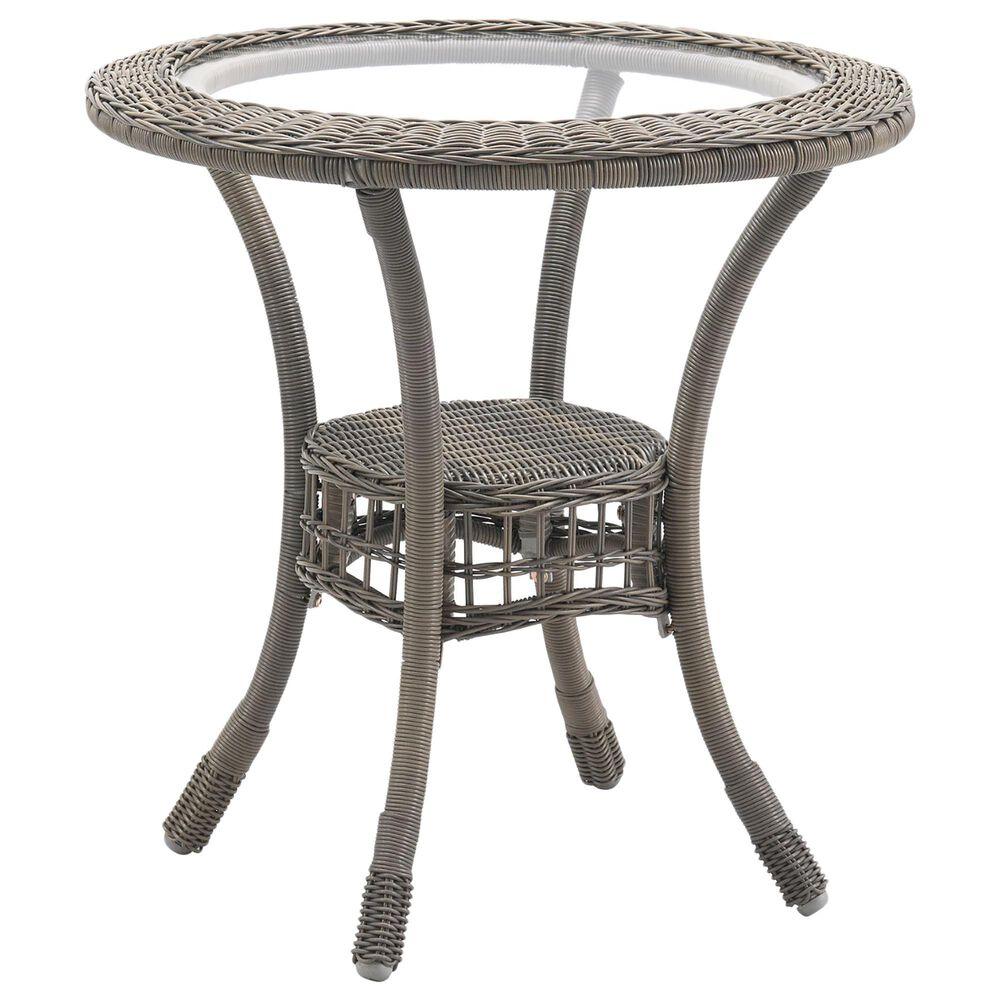 Bolton Furniture Carolina 3-Piece Patio Bistro Set in Gray, , large