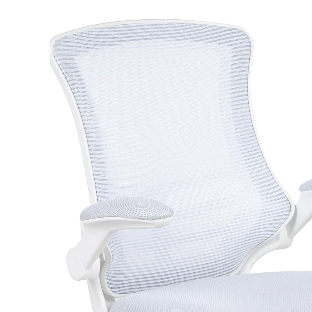 Flash Furniture Park Ave Office Chair in White, , large