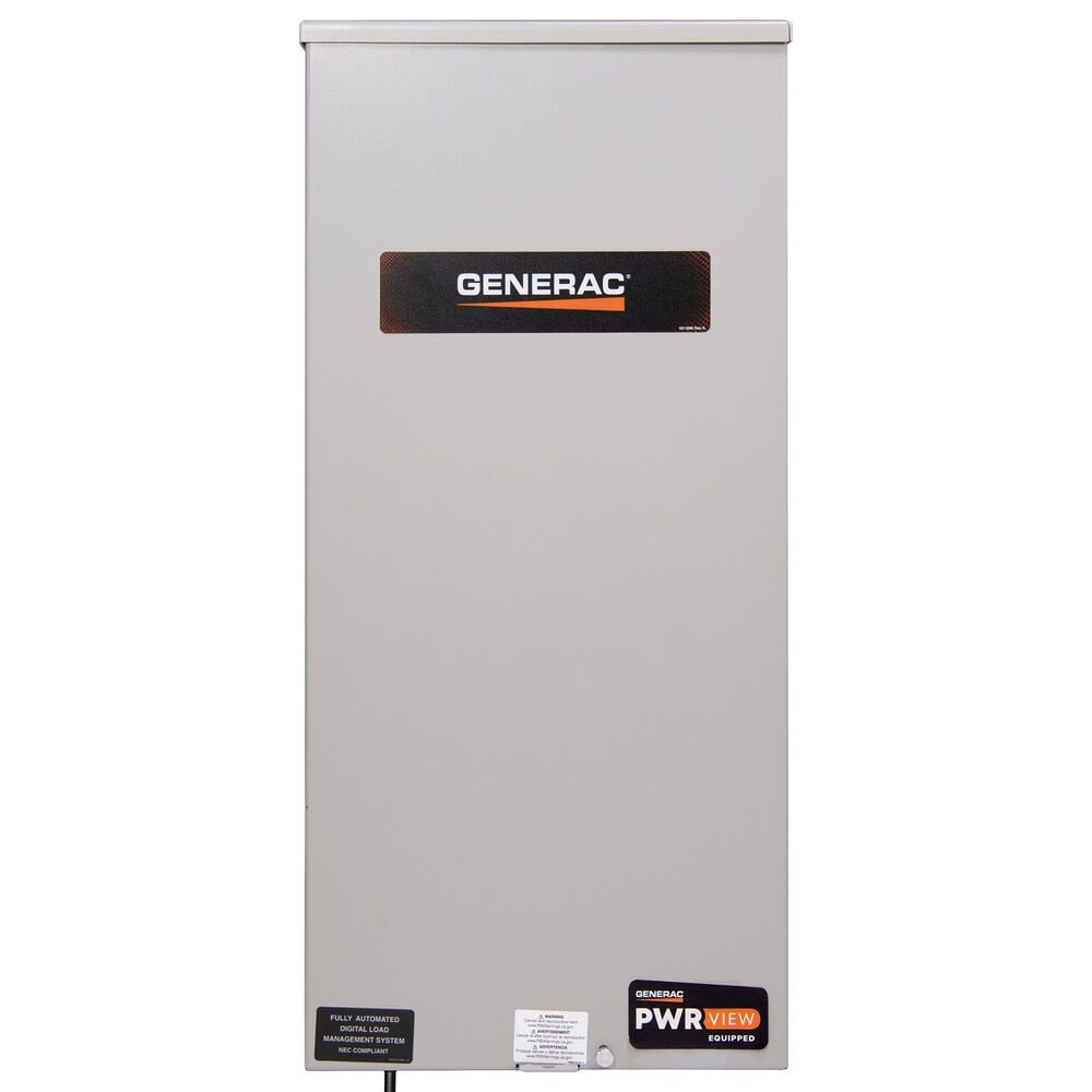 Generac 200-Amp PWRview Automatic Smart Transfer Switch w/ Power Management & HEMS, , large