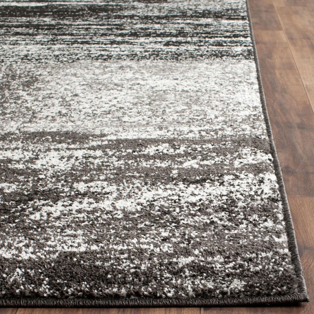 Safavieh Adirondack ADR112A 9' x 12' Silver and Black Area Rug, , large