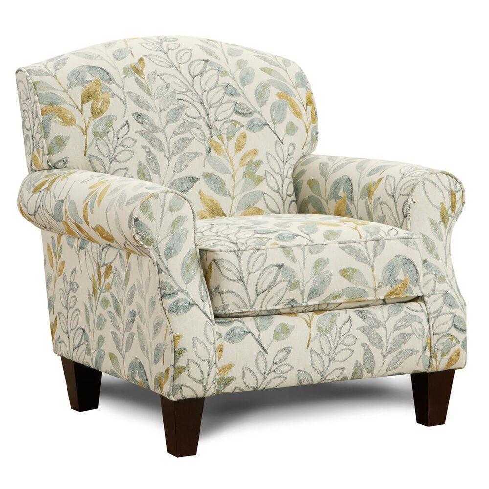 Xenia Accent Chair in Beldam Ocean, , large