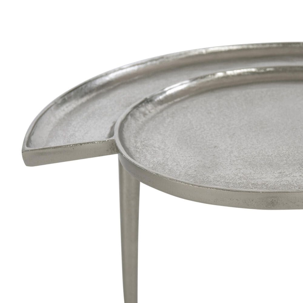Bernhardt Dayle Accent Table in Nickel, , large