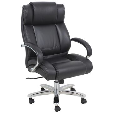 Global Seating Titan Big and Tall Executive Chair in Onyx Black, , large