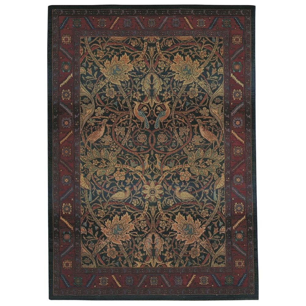 "Oriental Weavers Kharma 470X4 9""9"" x 12""2"" Red Area Rug, , large"